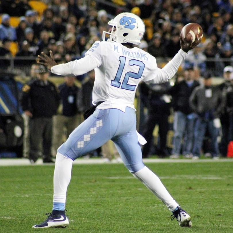 UNC quarterback Marquise Williams. (RoadTripSports photo by Matthew Postins)