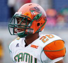 Florida A&M's Kevin Newman. (RoadTripSports photo by Chuck Cox)